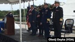 Фото з церемонії в Балтиморі