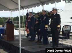 Фото з церемонії передачі катерів