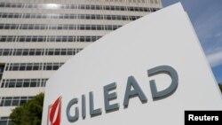 Kantor Gilead Sciences di Foster City, California, 1 Mei 2018. (Foto: Reuters)
