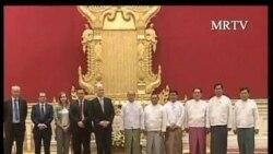 2012-01-06 粵語新聞: 英國外交大臣呼籲緬甸實行更多政治改革