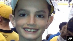 Восьмилетний Мартин Ричард - одна из трех жертв теракта в Бостоне