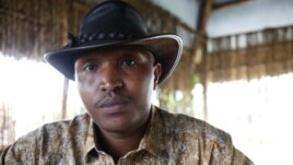 FILE - Indicted war criminal Bosco Ntaganda poses for a photograph during an interview with Reuters in Goma, Democratic Republic of Congo, October 5, 2010.
