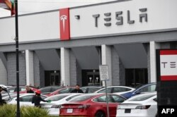 Tesla na Califónia