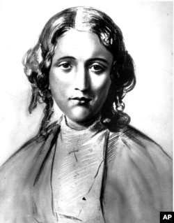 "Harriet Beecher Stowe is shown in this undated drawing. Her novel ""Uncle Tom's Cabin"" has been one of the most popular stories of all time. The first chapter appeared in the ""National Era,"" an anti-slavery-weekly, of Washington, on June 5, 1851."