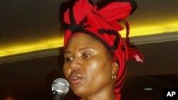 Lindiwe Zulu, African National Congress of South Africa.