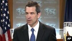 5일 정례브리핑하는 마크 토너 미 국무부 부대변인