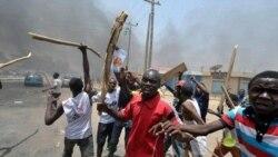 شورش در شمال نیجریه با اعلام پیروزی گودلاک جاناتان در انتخابات ریاست جمهوری