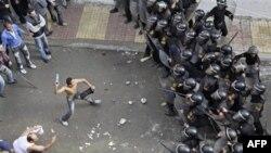 В Египте прошли столкновения демонстрантов-христиан-коптов с полицейским спецназом (архивное фото)