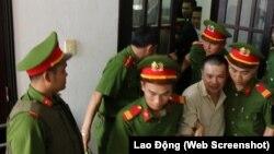 Xử phúc thẩm vụ nông dân Đặng Văn Hiến.