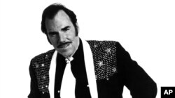 FILE - This 1980 file photo originally provided by Epic Records shows Country singer Slim Whitman.