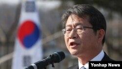 류길재 한국 통일부 장관. (자료사진)