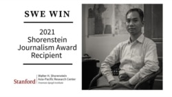 Swe Win, Editor-in-Chief of Myanmar Now, to Receive 2021 Shorenstein Journalism Award