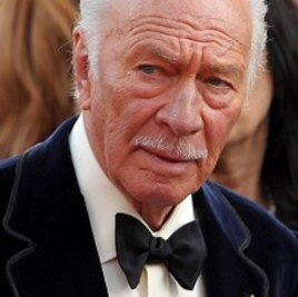 Christopher Plummer arrives before the 84th Academy Awards on Feb. 26, 2012, in Hollywood.