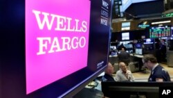 Financial Markets Wall Street Wells Fargo