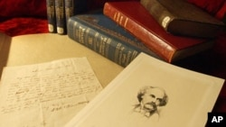 A letter by Nathaniel Hawthorne