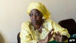 세네갈의 마리 콜 섹 세네갈 보건장관이 5월 20일 제네바에서 열린 세계보건총회에 참석해 인터뷰를 하고 있다. (자료화면)