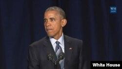 Perezida w'Amerika Barack Obama