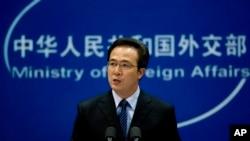 Phát ngôn viên Hồng Lỗi nói Trung Quốc đang hành xử các quyền hợp pháp của mình qua việc thực hiện những cuộc thao dượt này.