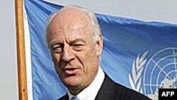 Ðặc sứ Liên Hiệp Quốc tại Afghanistan De Mistura đưa ra đánh giá dè dặt về cuộc bầu cử quốc hội, rằng có một số cải tiến trong quá trình kiểm phiếu