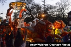 "New Orleans, nicknamed the ""Big Easy,"" is known for its vibrant music scene and festive street life, especially during Mardi Gras, its annual winter carnival."