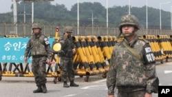 Soldados da Coreia do Sul