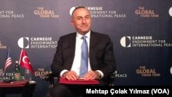 Menlu Mevlut Cavusoglu melaporkan kesepakatan dengan AS untuk melindungi pemberontak Suriah (foto: dok).