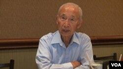 Nguyen Van Ngai, a former South Vietnamese senator. (G. Flakus/VOA)