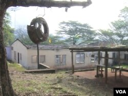 This government high school in Fontem, in southwestern Cameroon, was torched during unrest in January 2018. (M. Kindzeka/VOA)