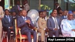Inauguration de la nouvelle aérogare de Lomé au Togo avec la présence du président Faure Gnassingbé.