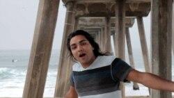 Güneyli musiqiçi Los Ancelesdə vətənini təbliğ edir