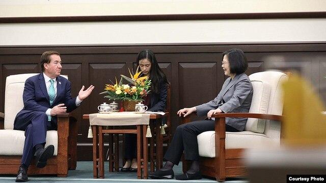 北京对台压迫促成《台湾旅行法》