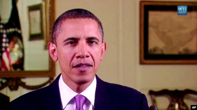 Barack Obama delivers his weekly address, 30 October 2010