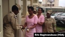 Diane Rwigara n'umubyeyi we Adeline Mukangemanyi