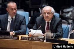BM Filistin Büyükelçisi Riyad Mansur