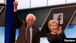 Berni Sanders y Hillary Clinton harán campaña juntos por primera vez.