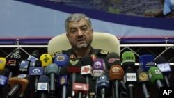 伊斯兰革命卫队司令贾法里9月16日在德黑兰的记者会上
