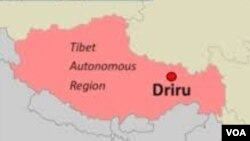The Development of the Recent Unrest in Driru County