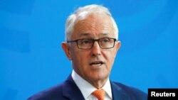 澳大利亚总理特恩布尔(2018资料照)