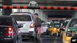 图为北京街头资料照