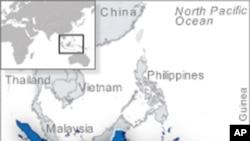 印度尼西亚地理位置图