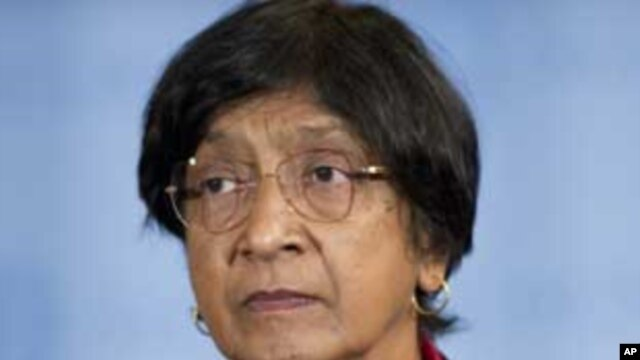 U.N. High Commissioner for Human Rights, Navi Pillay (file photo)