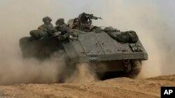 Israel mandó tropas a Gaza el 17 de julio para destruir armas, arsenal militar y túneles de disparo de cohetes de Hamas.