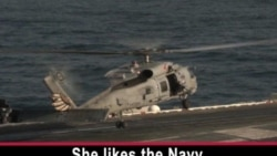 Women in the Navy: Aboard an Aircraft Carrier