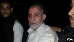 Müslüman Kardeşler'in ruhani lideri Muhammed Bedii geçen hafta tutuklandığı sırada