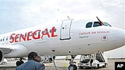 Un avion de Senegal Airlines