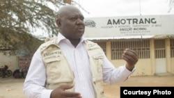 Bento Rafael presidente da Associação dos Mototaxistas e Transportadores de Angola