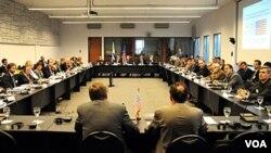 La reunión congregó a 30 científicos e investigadores de Estados Unidos y Uruguay.