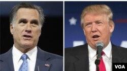 Mantan Capres AS dari partai Republik Mitt Romney mengritik Presiden AS Donald Trump.