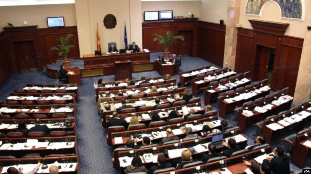 Parlamenti i Maqedonisë hap debatin për gjuhën shqipe