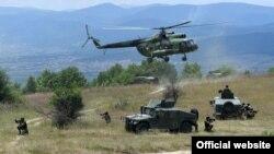 """Vojna vežba """"Platinasti vuk"""" (Foto: Ministarstvo odbrane Republike Srbije)"""
